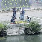 Rome; physique discovered close Ponte Duca d'Aosta: belongs to a thirty-something