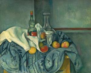 The Peppermint Bottle - Paul cézanne
