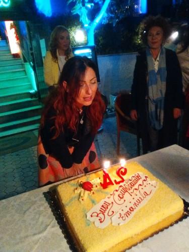 La manager della moda Emanuela Corsello festeggia il 42compleanno nella location con vista mozzafiato su Roma By Night Zodiaco