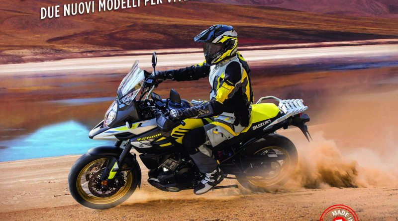 Suzuki, debuttano le nuove V-STROM 1000 Feel More e Globe Rider