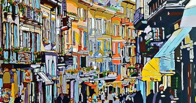 """Dal 7 aprile al 21 Aprile 2018 Libreria Edizioni Cardano a Pavia presenta la mostra personale dell'artista napoletano """"Giovanni Manzo e l'Impressionismo contemporaneo"""""""