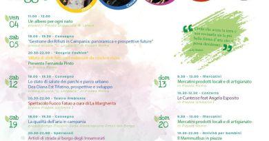"""""""Un Mese per L'Ambiente"""" - Dal 4 maggio al 5 giugno 2018 a Santa Maria a Vico"""