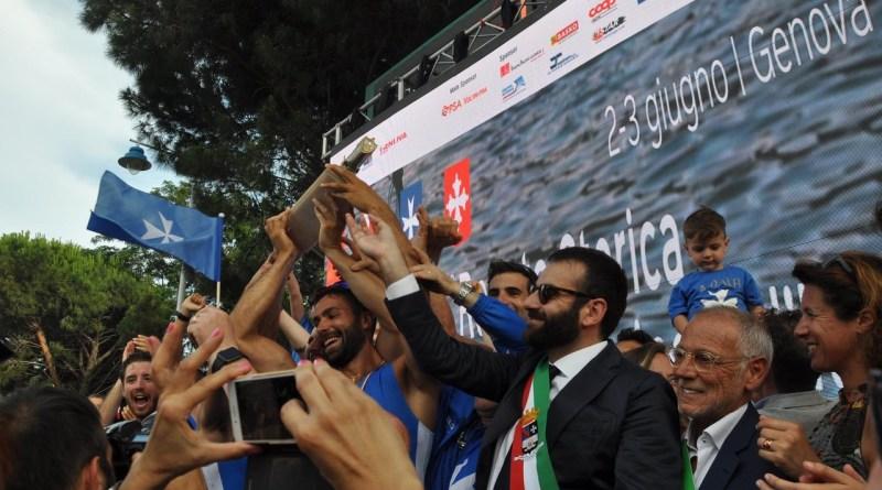 Amalfi abbraccia i suoi campioni. La festa per i vincitori della Regata delle Antiche Repubbliche Marinare