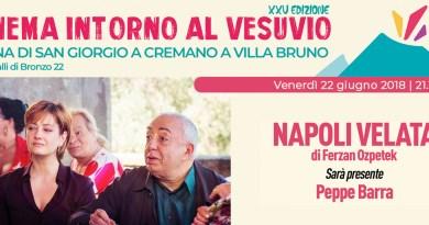 """Peppe Barra ospite della rassegna """"Cinema intorno al Vesuvio"""" di Arci movie"""