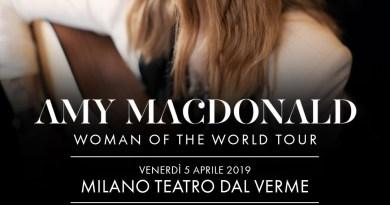 Amy Macdonald arriva in Italia con un imperdibile show