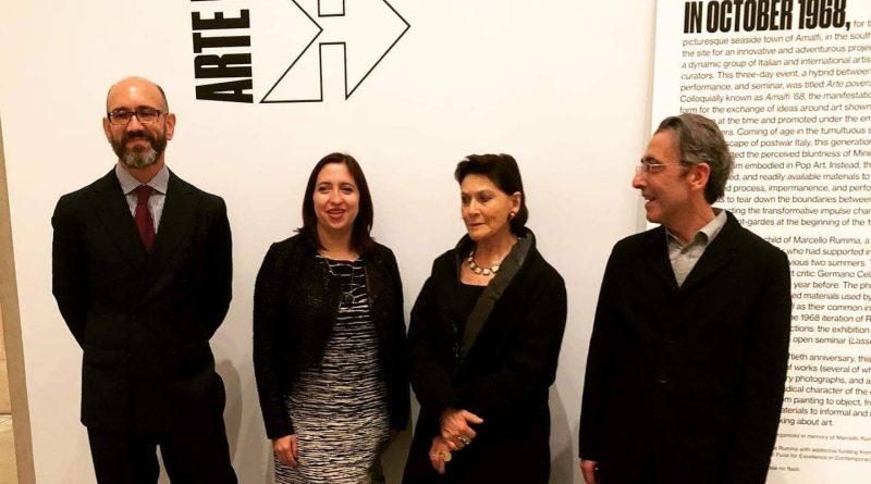 "Inaugurata a Philadelphia la mostra ""Arte Povera: Homage to Amalfi '68"""