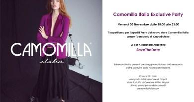 Party in aeroporto con Camomilla Italia