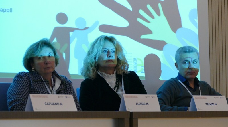 Artrite reumatoide infantile_secondo incontro del corso a Napoli