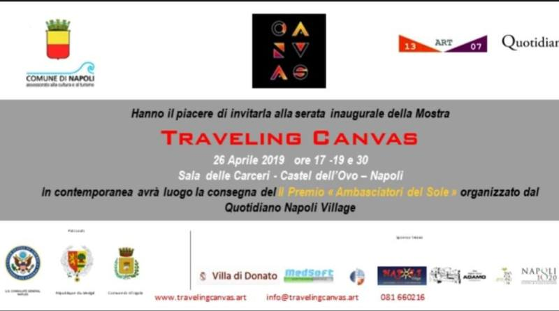 TRAVELING CANVAS - IN ANTEPRIMA A NAPOLI