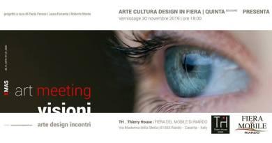 Riardo, Tutto pronto per Visioni, collettiva d'arte e Design alla Fiera del Mobile