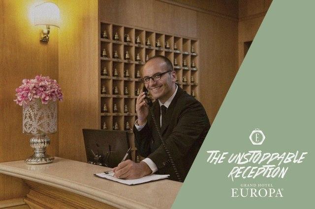 Grand Hotel Europa - Reception sempre attiva