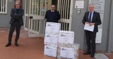 Confimprese Caserta dona oltre 300 mascherine e 100 tute protettive all'Azienda Ospedaliera Sant'Anna e San Sebastiano