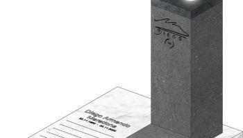 I napoletani accolgono la proposta del monumento per Diego al cimitero degli Illustri: spunta il progetto dell'opera
