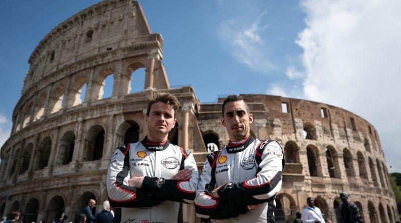 Nissan e.dams arriva a Roma per la doppia gara della Formula E 1