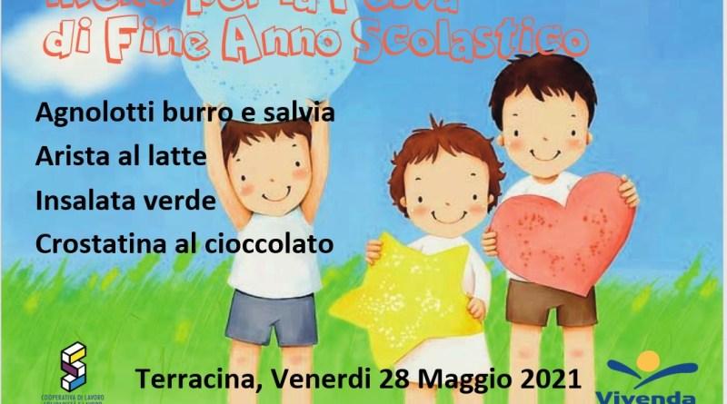 Terracina e S. Felice Circeo, un menu speciale per la fine dell'anno scolastico