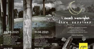 """""""I RACCONTI MERAVIGLIOSI"""" LIVE SESSIONS AL TEATRO CIVICO 14 1"""