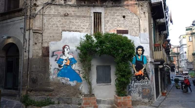 Street art tour a Montesanto e nei Quartieri Spagnoli 1