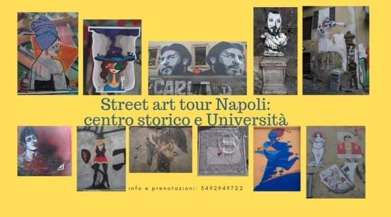 Street art tour Napoli: centro storico e università 1
