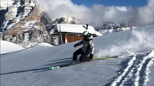 Maestri di sci Alta Badia Telemark snow - Copia
