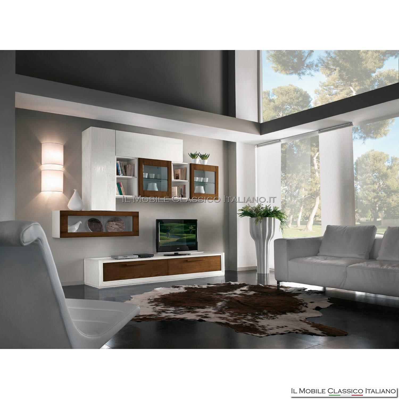 Arredamento per soggiorno classico a prezzi straordinari. Mobile Da Salotto Classico Parete Attrezzata Classica Per Salotto