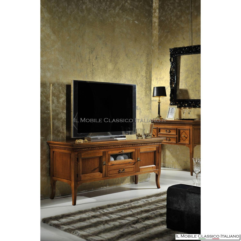 Porta Tv Legno Classico.Porta Tv In Legno Idee Per La Progettazione Di Decorazioni Per La