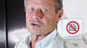 Il presidente del Palermo Maurizio Zamparini