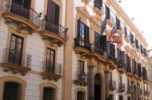 Palazzo Comitini, sede della città metropolita di Palermo