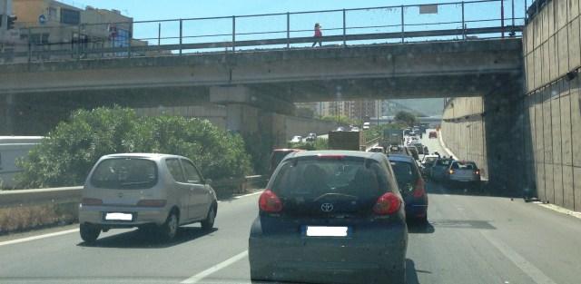 traffico viale regione