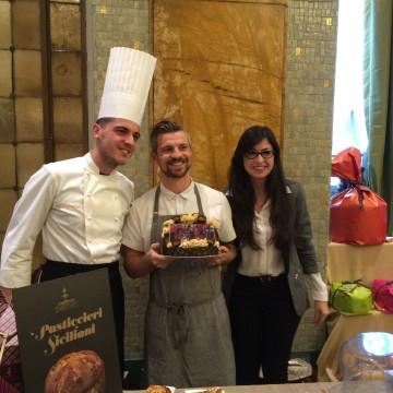 da sinistra Mario Fiasconaro - Travis Dorsey, chef di Madonna - Agata Fiasconaro