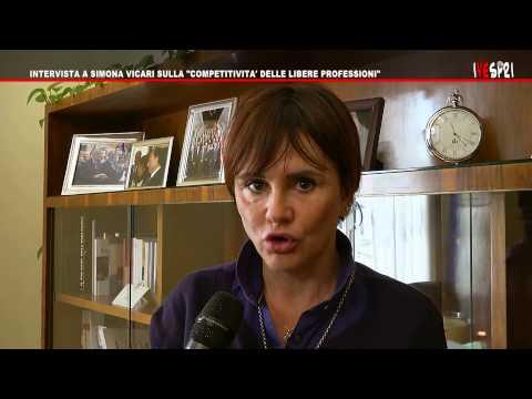 VESPRI 518   INTERVISTA A SIMONA VICARI SULLA  COMPETITIVITA' DELLE LIBERE PROFESSIONI