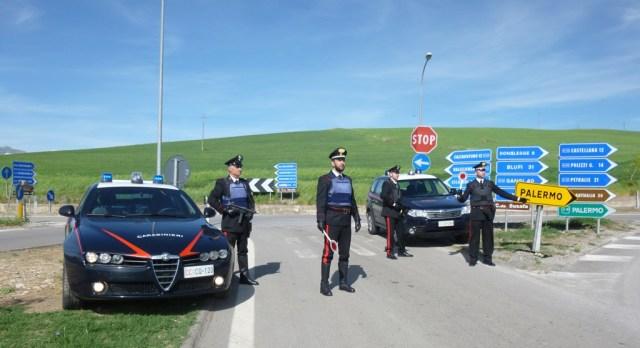 carabinieri Lercara Friddi