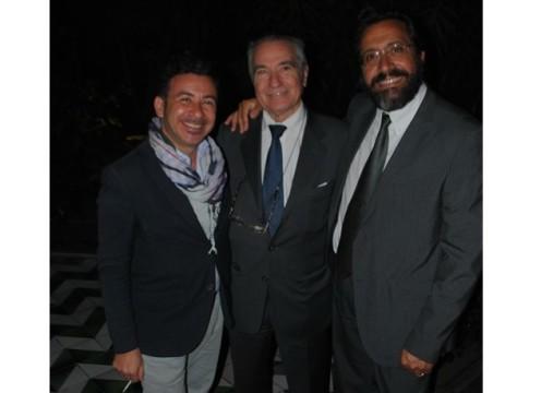da sx Francesco Panasci, Francesco Ernani e Salvatore Di Carlo