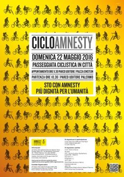 CicloAmnesty 22 maggio 2016 Locandina
