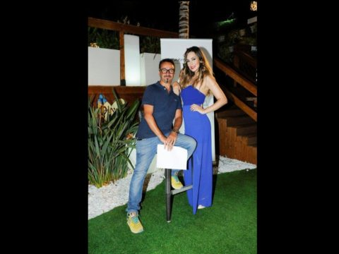 I presentatori di Miss Venere d'Italia Sicilia, Ivan Fiore e Kiara Ferretta