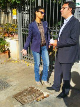 Avvocato Francesca Paola Quartararo e l'Onorevole Vincenzo Figuccia