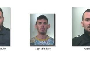 Algeri Alessandro-Algeri Fabio Alvaro-Algeri Fabio -Arrestati a Bagheria