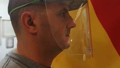 Coronavirus - maschera 3D per sanitari, distretto meccatronica