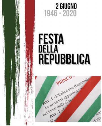 Comune Palermo. Festa della Repubblica. Palazzo delle Aquile illuminato col tricolore