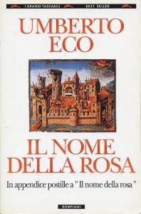 Il nome della Rosa, Umberto Eco