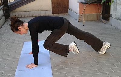 Esercizio 2 skip corpo proteso 2
