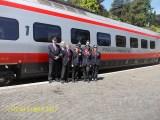 Foto di Gruppo per il personale dell'ETR 600