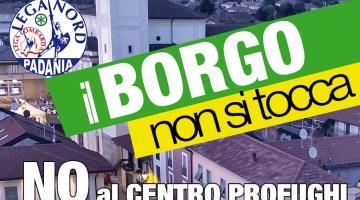 Profughi nel Borgo, si ritorna in piazza e c'è Salvini