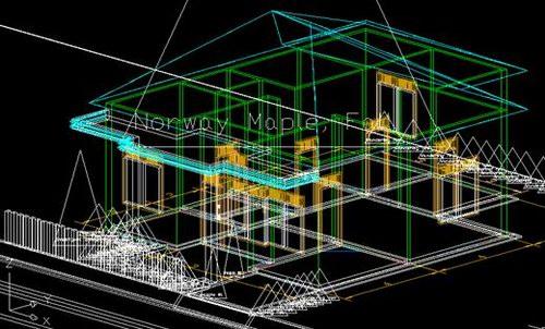 Tutorial Belajar Autocad | teknik arsitektur 2d dan 3d