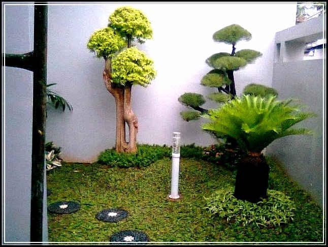 Taman Minimalis Depan Rumah yang Indah  ilmutekniksipilcom