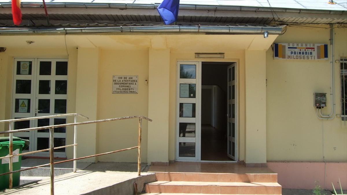Primăria Miloșești, Ialomița