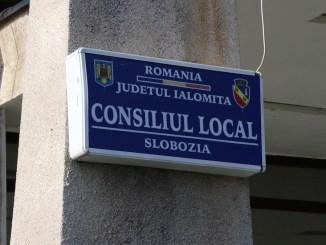 Consiliul Local Slobozia. FOTO Adrian Boioglu