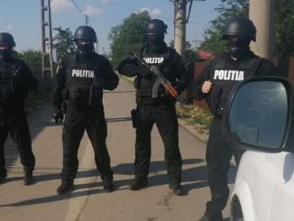 Razie de amploare la Borănești. FOTO IPJ Ialomița
