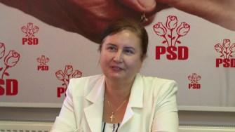 Elena Buculescu, candidatul PSD la Primăria Urziceni. FOTO Paul Alexe