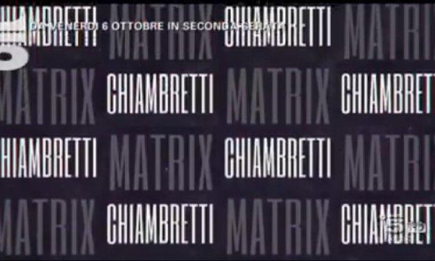 Matrix Chiambretti: Alfonso Signorini e Serena Grandi, gli ospiti del 3 novembre
