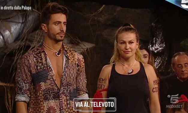 Isola dei Famosi 2018, nomination: Marco e Eva al voto